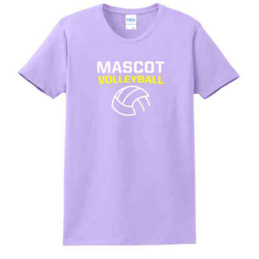 Volleyball  Women's Classic Fit Heavyweight Cotton T-shirt