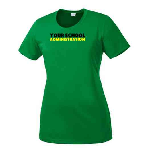 Administration Womens Competitor T-shirt