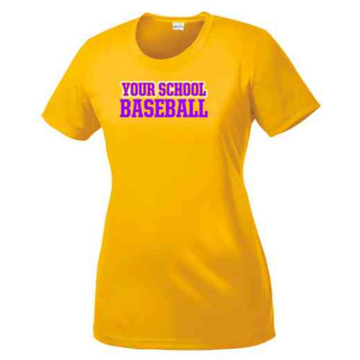 Baseball Womens Competitor T-shirt