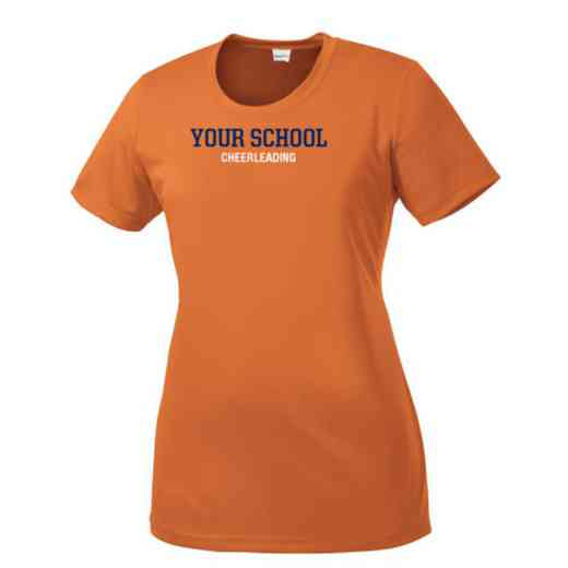 Cheerleading Womens Competitor T-shirt