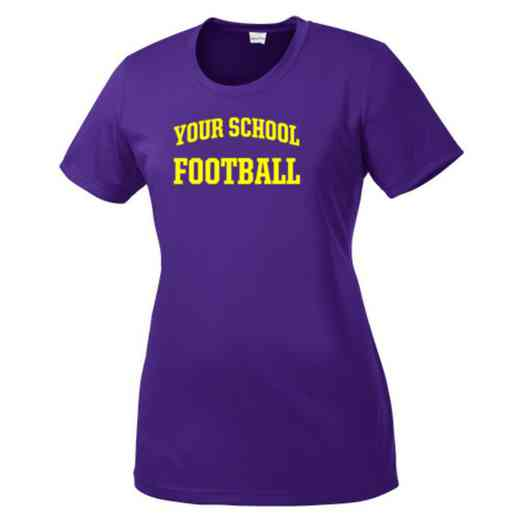 Football Womens Competitor T-shirt