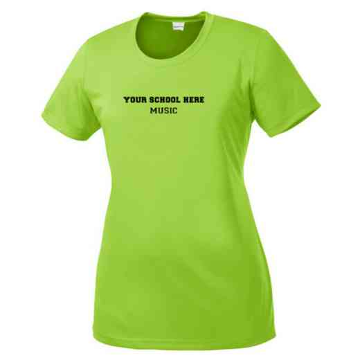Music Womens Competitor T-shirt