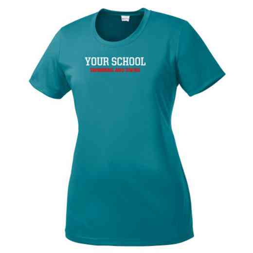 Swimming and Diving Womens Competitor T-shirt