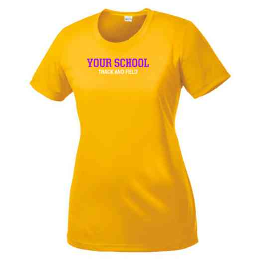 Track and Field Womens Competitor T-shirt