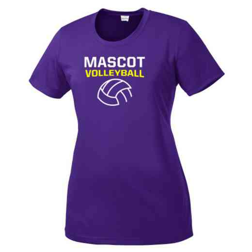 Volleyball  Womens Competitor T-shirt