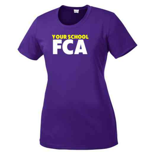 FCA Womens Competitor T-shirt