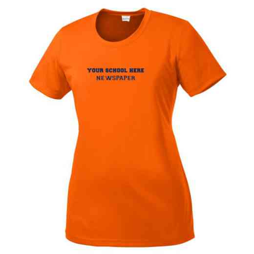 Newspaper Womens Competitor T-shirt