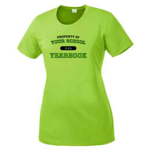 Yearbook Womens Competitor T-shirt