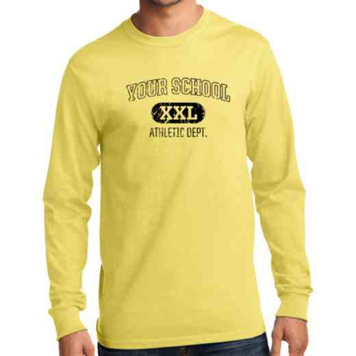 Men's Athletic Department Classic Heavy Cotton Long Sleeve T-Shirt
