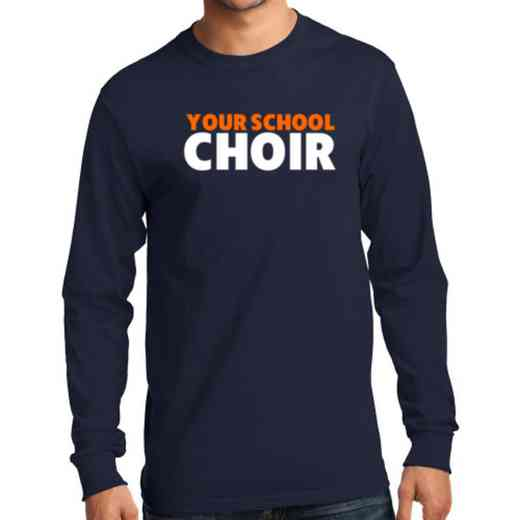 Men's Choir Classic Heavy Cotton Long Sleeve T-Shirt