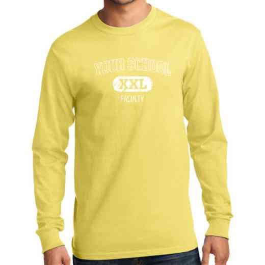 Men's Faculty Classic Heavy Cotton Long Sleeve T-Shirt