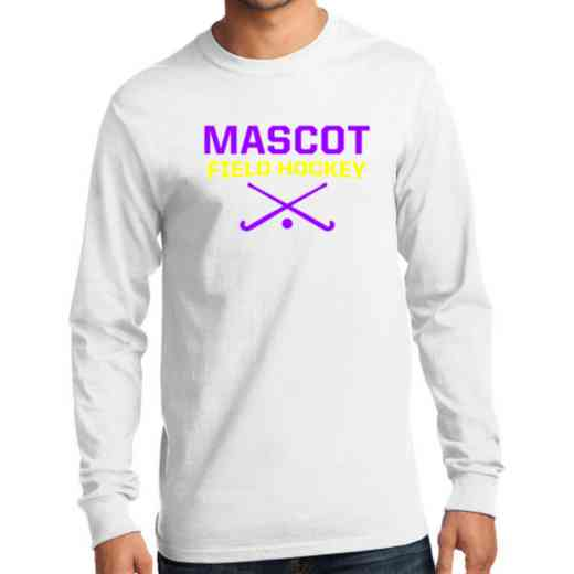 Men's Field Hockey Classic Heavy Cotton Long Sleeve T-Shirt