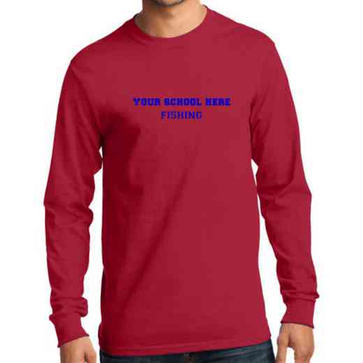Men's Fishing Classic Heavy Cotton Long Sleeve T-Shirt