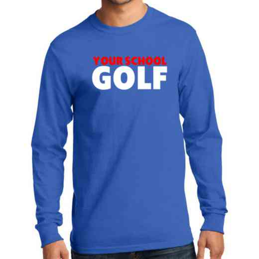 Men's Golf Classic Heavy Cotton Long Sleeve T-Shirt