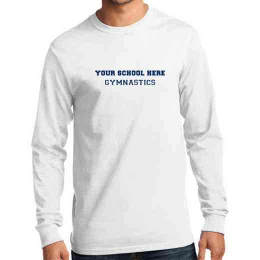 Men's Gymnastics Classic Heavy Cotton Long Sleeve T-Shirt