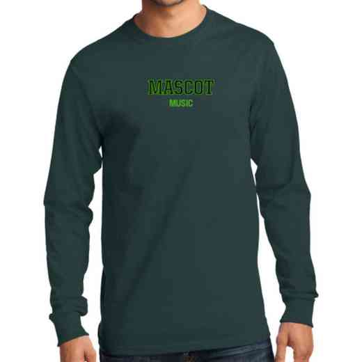 Men's Music Classic Heavy Cotton Long Sleeve T-Shirt