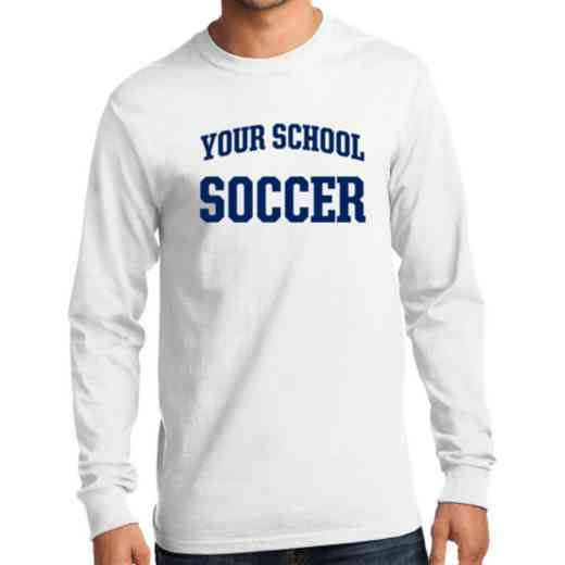 Men's Soccer Classic Heavy Cotton Long Sleeve T-Shirt
