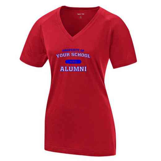 Alumni Womens Ultimate Performance V-Neck T-shirt