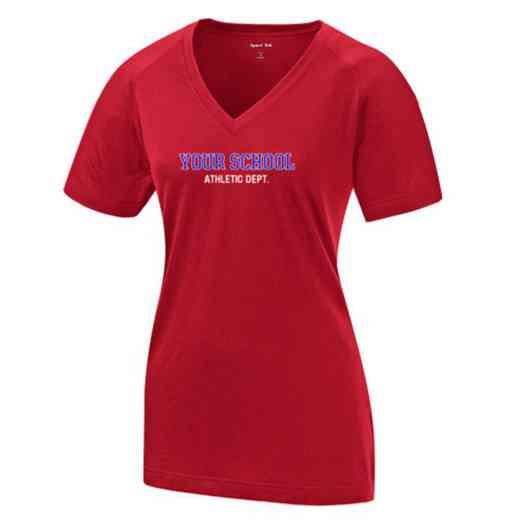 Athletic Department Womens Ultimate Performance V-Neck T-shirt