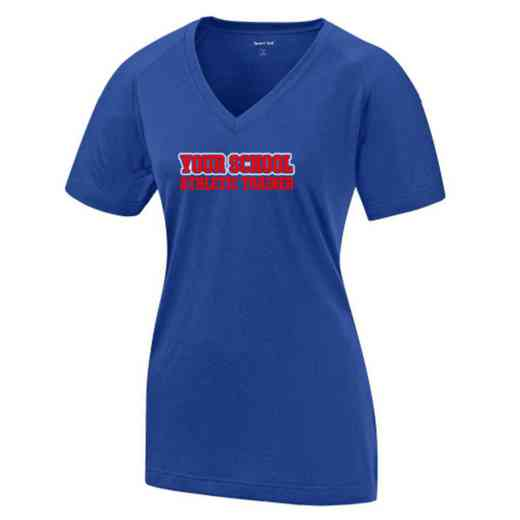 Athletics Womens Ultimate Performance V-Neck T-shirt
