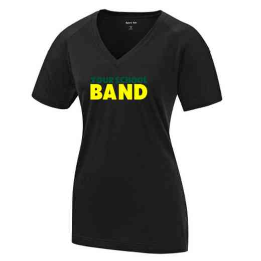 Band Womens Ultimate Performance V-Neck T-shirt