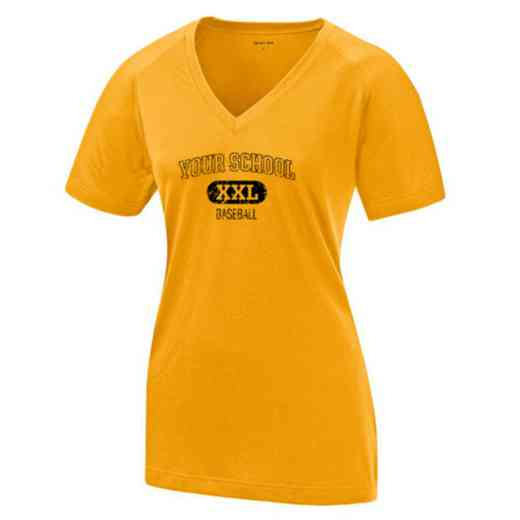 Baseball Womens Ultimate Performance V-Neck T-shirt