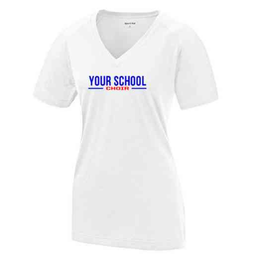 Choir Womens Ultimate Performance V-Neck T-shirt