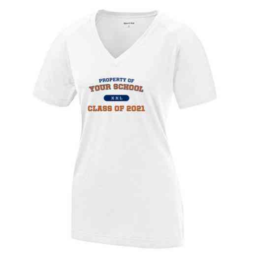Class of  Womens Ultimate Performance V-Neck T-shirt