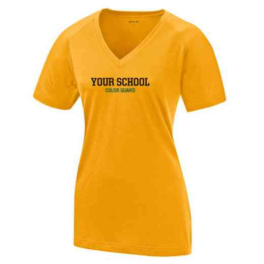 Color Guard Womens Ultimate Performance V-Neck T-shirt