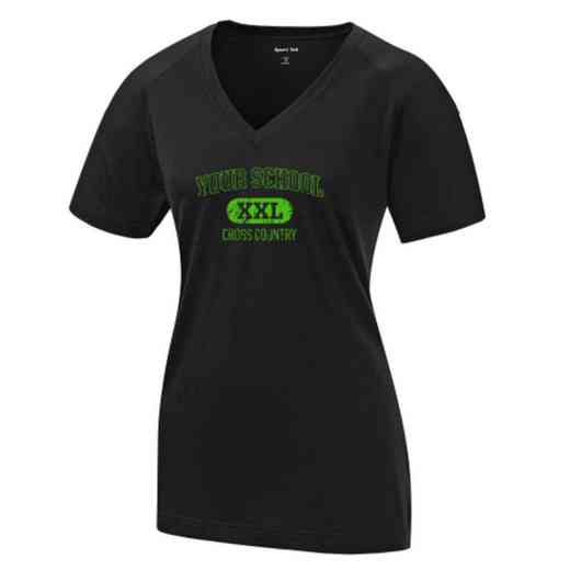 Cross Country Womens Ultimate Performance V-Neck T-shirt