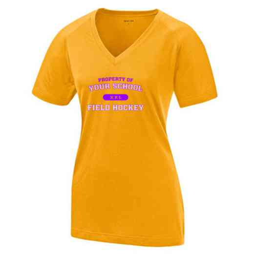 Field Hockey Womens Ultimate Performance V-Neck T-shirt