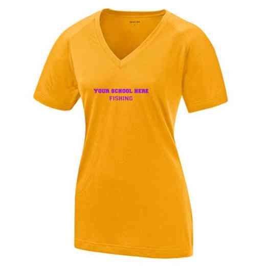 Fishing Womens Ultimate Performance V-Neck T-shirt