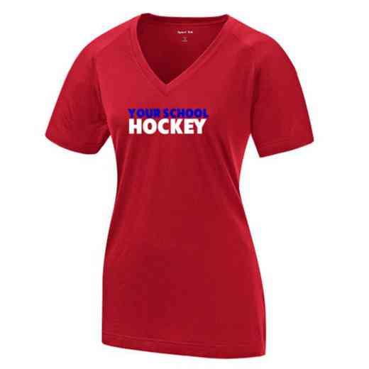 Hockey Womens Ultimate Performance V-Neck T-shirt