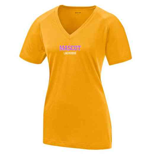 Lacrosse Womens Ultimate Performance V-Neck T-shirt
