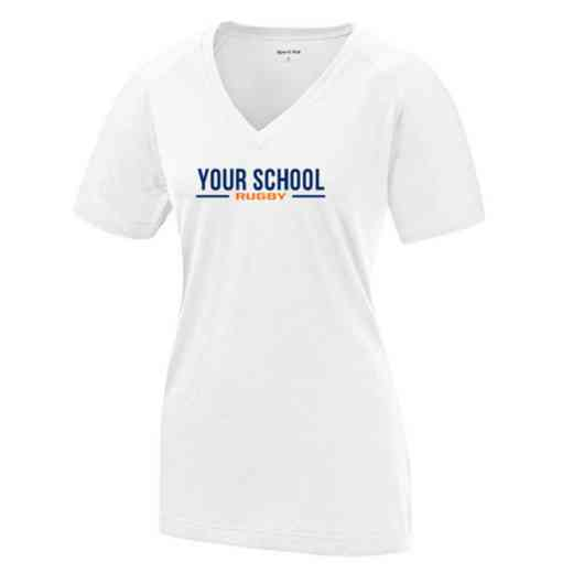 Rugby Womens Ultimate Performance V-Neck T-shirt