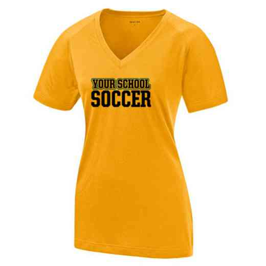 Soccer Womens Ultimate Performance V-Neck T-shirt