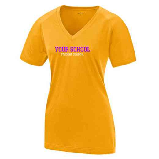 Student Council Womens Ultimate Performance V-Neck T-shirt