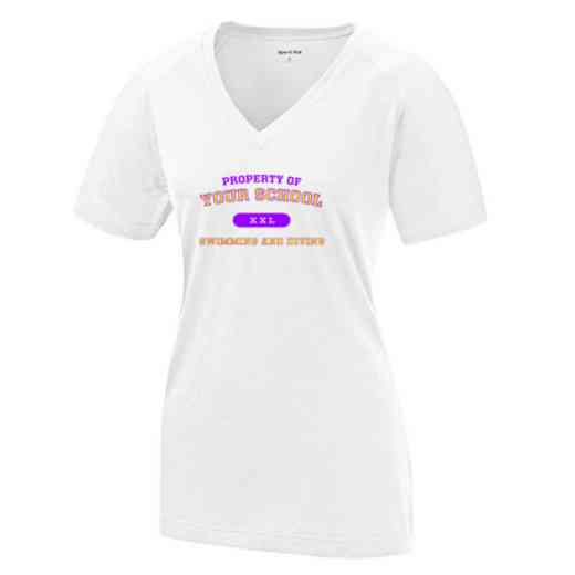 Swimming and Diving Womens Ultimate Performance V-Neck T-shirt
