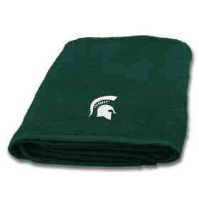 1COL929001031WMT: COL 929 Michigan State Bath Towel