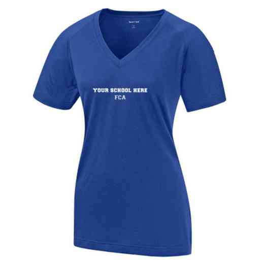 FCA Womens Ultimate Performance V-Neck T-shirt