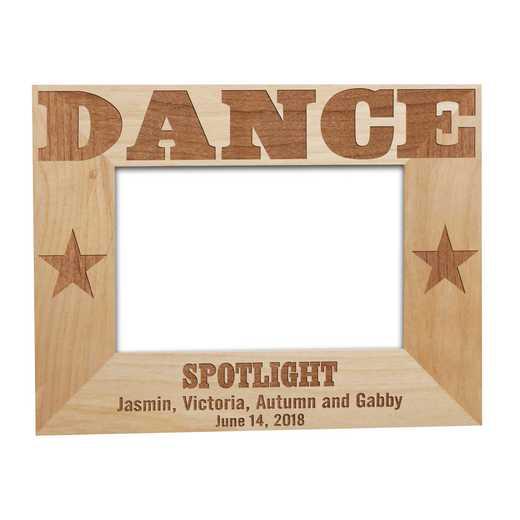 925651: Dance Wooden  Frame Alder 4 x 6