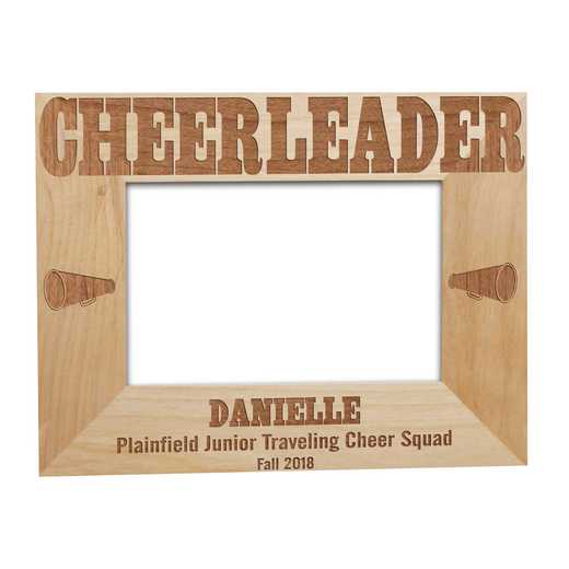 925482: Cheerleader Wooden  Frame Alder 5 x 7