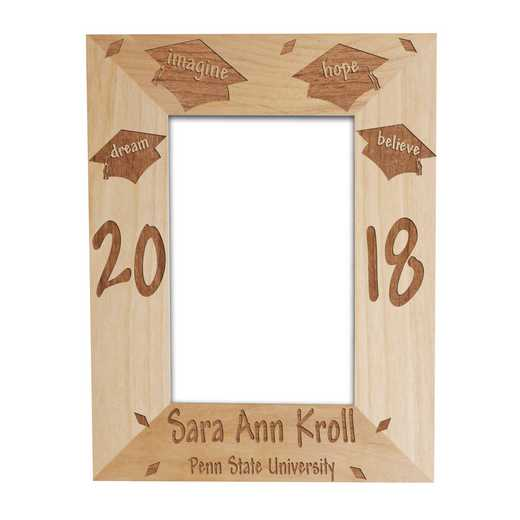 97440: Dream Graduation Wood Fram Alder 4 x 6