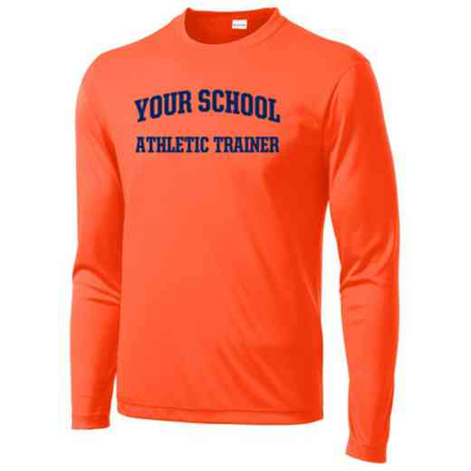 Athletic Trainer Long Sleeve Competitor T-shirt