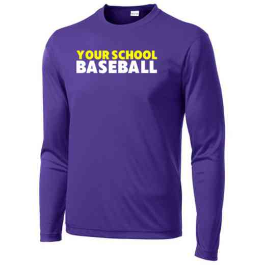 Baseball Long Sleeve Competitor T-shirt