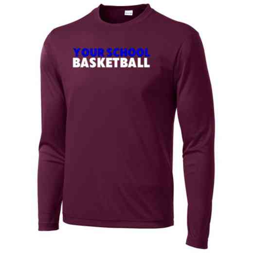 Basketball Long Sleeve Competitor T-shirt