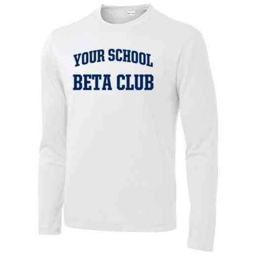 Beta Club Long Sleeve Competitor T-shirt