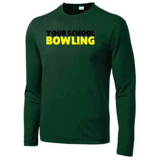 Bowling Long Sleeve Competitor T-shirt