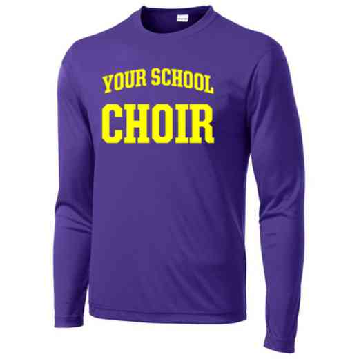 Choir Long Sleeve Competitor T-shirt