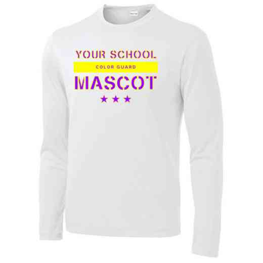 Color Guard Long Sleeve Competitor T-shirt